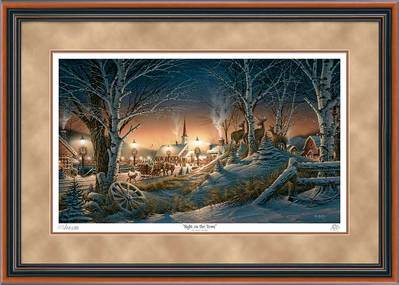 Night On The Town – Framed- Signed By The Artist								 – Paper Lithograph – Limited Edition – 29500 S/N – 24 x 34