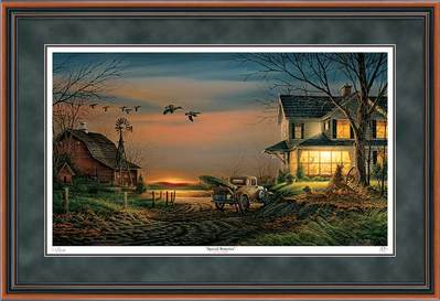 Special Memories – Framed- Signed By The Artist – PaperLithograph  – Limited Edition  – 560A/P  –  28 1/2x42