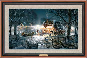 Sweet Memories – Framed- Signed By The Artist								 – Canvas Lithograph – Limited Edition – 500 S/N – 20 1/2 x 30 1/2