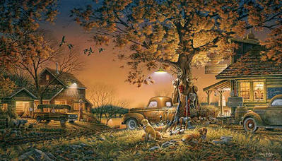 Twilight Time- Signed By The Artist – PaperLithograph  – Limited Edition  – 9500S/N  –  18 1/2x32