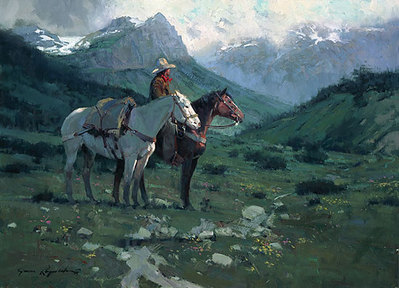 The Summit- Signed By The Artist – PaperLithograph  – Limited Edition  – 950S/N  –  23x31 3/4