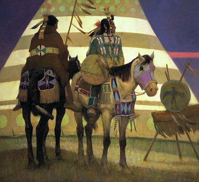Crow Fair- Signed By The Artist – PaperLithograph – Limited Edition – 550S/N – 20x22