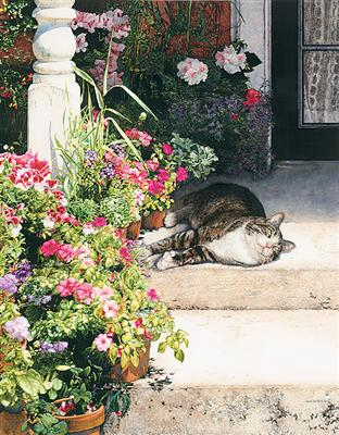 Summertime- Signed By The Artist – PaperLithograph – Limited Edition – 999S/N – 18x13 3/4 –