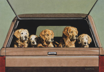Tailgate Party- Signed By The Artist – CanvasGiclee – Limited Edition – 180S/N – 10x15