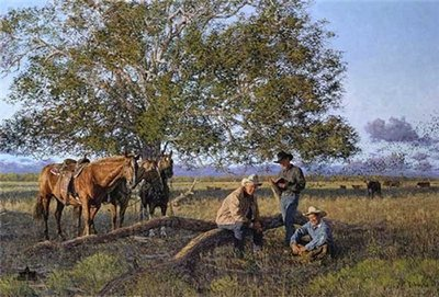 Cowboy Church- Signed By The Artist – CanvasLithograph – Limited Edition – 95S/N – 20x30 –