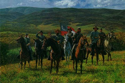 Reconnaissance At McDowell- Signed By The Artist – CanvasLithograph – Limited Edition – 195S/N – 20x30