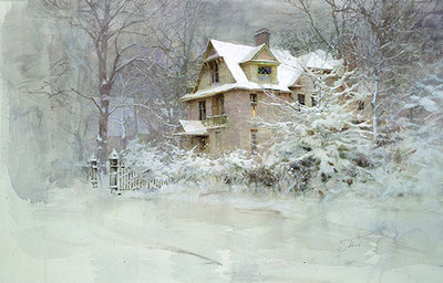 Ridge House- Signed By The Artist – PaperLithograph  – Limited Edition  – 850S/N  –  17 1/2x25