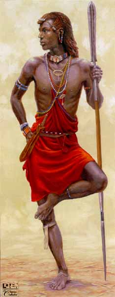 Masai Moran- Signed By The Artist – CanvasGiclee  – Limited Edition  – 180S/N  –  40x16