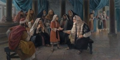 My Father's Business- Signed By The Artist – CanvasGiclee  – Limited Edition  – 15A/P  –  24x48