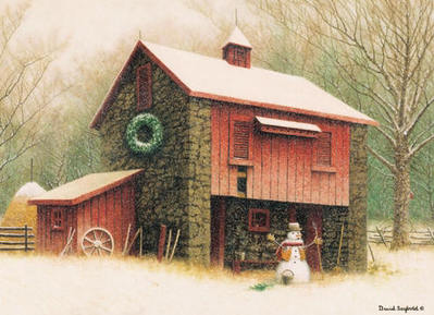 The Barnkeeper- Signed By The Artist								 – Paper Lithograph – Limited Edition – 500 S/N – 10 1/2 x 14 1/2 –