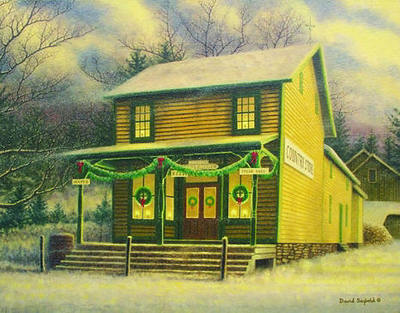 Country Store Memories- Signed By The Artist – PaperLithograph – Limited Edition – 500S/N – 10 1/2x14 1/2