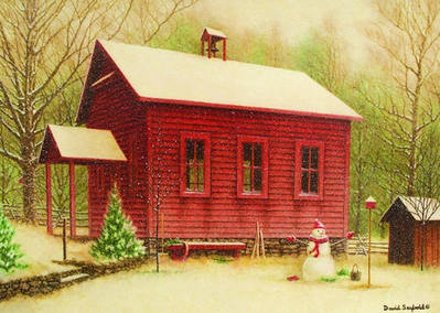 Schoolhouse Keeper- Signed By The Artist – PaperLithograph – Limited Edition – 500S/N – 10 1/2x14 1/2 –