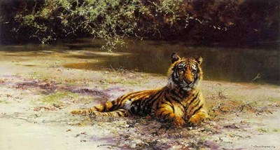 Indian Siesta- Signed By The Artist – PaperLithograph – Limited Edition – S/N – 29 7/8x16 3/4 –