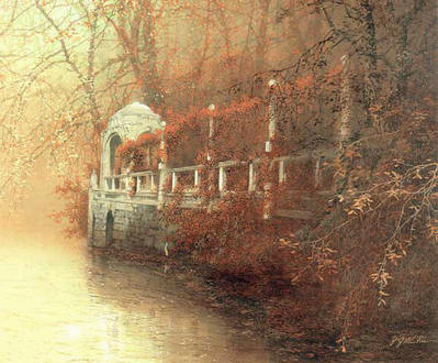 Autumn Dream- Signed By The Artist								 – Canvas Giclee – Limited Edition – 180 S/N – 24 x 30