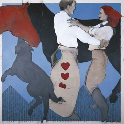 Dance Romance- Signed By The Artist								 – Canvas Giclee – Limited Edition – 150 S/N – 20 x 20