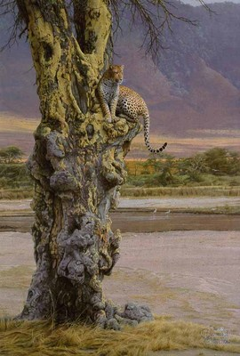 Vantage Point- Signed By The Artist								 – Paper Lithograph – Limited Edition – 76 A/P – 28 x 19 1/8