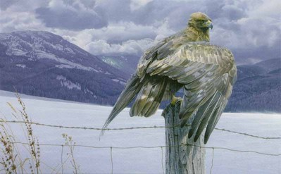 Wings Of Gold- Signed By The Artist – PaperLithograph – Limited Edition – 950S/N – 20x32