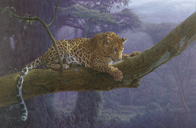 Deadly Intent- Signed By The Artist – CanvasGiclee – Limited Edition – 18A/P – 25x38