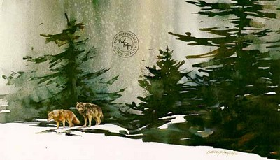 From The North They Came- Signed By The Artist – PaperLithograph  – Limited Edition  – 950S/N  –  16x24 3/8