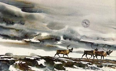 Into The Storm- Signed By The Artist – PaperLithograph  – Limited Edition  – 950S/N  –  19x31 1/2  –