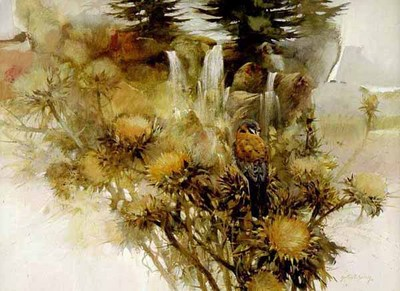 Thistledown- Signed By The Artist – PaperLithograph – Limited Edition – 1250S/N – 19x25 7/8 –