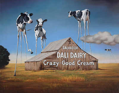 Dali Dairy- Signed By The Artist – CanvasGiclee  – Limited Edition  – 100S/N  –  15x19