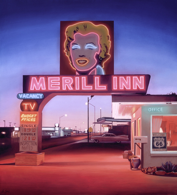 Merill Inn- Signed By The Artist – CanvasGiclee  – Limited Edition  – 25S/N  –  43x39
