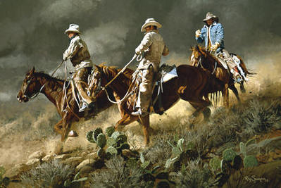 Bustin' For Beans, Biscuits And Beef- Signed By The Artist – PaperLithograph – Limited Edition – 950S/N – 21 1/4x31 1/8