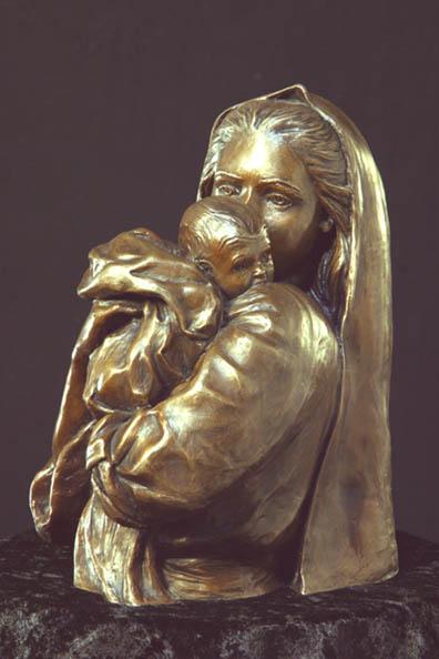 Be It Unto Me – Bronze- SculptureBronze – Limited Edition – 500Limited – 12″ High –