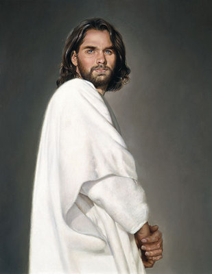 Jesus- Signed By The Artist – CanvasGiclee  – Limited Edition  – A/P  –  18x14