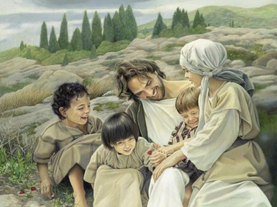 Let The Children Come- Signed By The Artist – PaperLithograph – Limited Edition – A/P – 17 1/2x23 1/4 –