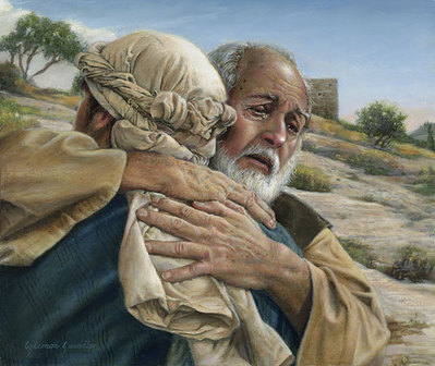 The Prodigal Son- Signed By The Artist								 – Canvas Giclee – Limited Edition – A/P – 10 x 12