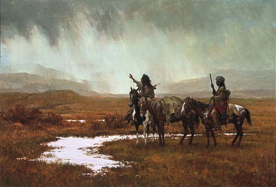 Spirit Of The Rainmaker- Signed By The Artist – PaperLithograph – Limited Edition – 1500S/N – 21 3/8x31 1/2