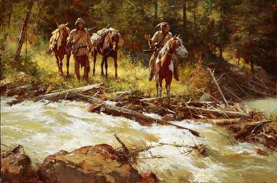 Broken Trail- Signed By The Artist								 – Canvas Giclee – Limited Edition – 125 S/N – 23 x 34