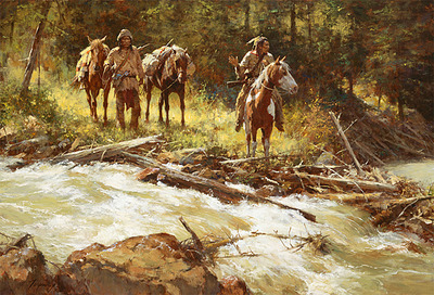 Broken Trail- Signed By The Artist								 – Canvas Giclee – Limited Edition – 25 A/P – 23 x 34