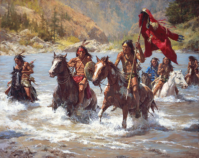 Capturing The Chief's Coat- Signed By The Artist – CanvasGiclee – Limited Edition – 90S/N – 32x40
