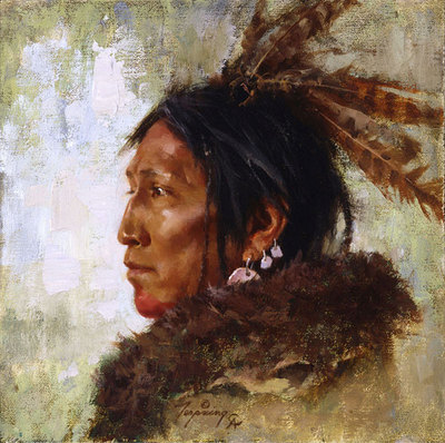 Hawk Feathers- Signed By The Artist – CanvasGiclee – Limited Edition – 50A/P – 9x9