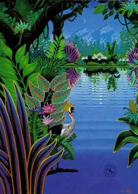 The Magic Lake- Signed By The Artist – PaperSerigraph – Limited Edition – 150S/N – 40x30