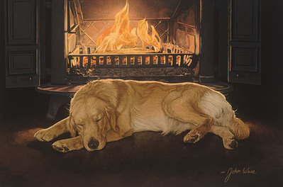 A Feeling Of Warmth- Signed By The Artist – CanvasGiclee  – Limited Edition  – 150S/N  –  17x25