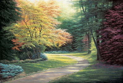 Into The Light- Signed By The Artist – CanvasLithograph – Limited Edition – 50A/P – 24x36