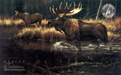 Power And Grace- Signed By The Artist – CanvasGiclee  – Limited Edition  – 95S/N  –  30x48