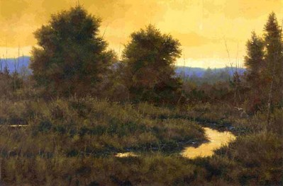 Last Light- Signed By The Artist – CanvasGiclee  – Limited Edition  – 180S/N  –  24x36