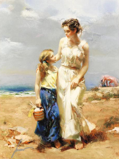By The Sea – Signed By The Artist – Giclee On Canvas – Limited Edition