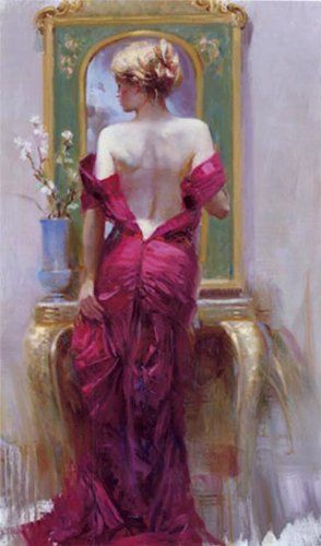 Elegant Seduction- Signed By The Artist- Giclee On Canvas – Limited Edition