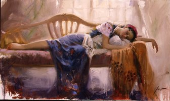 At Rest– SIGNED BY THE ARTIST – GICLEE ON CANVAS – LIMITED EDITION
