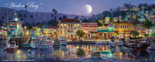 Avalon Bay– SIGNED BY THE ARTIST – ARCHIVAL PIGMENT INK ON CANVAS – LIMITED EDITION
