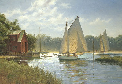 On A Midday Tide- CanvasGiclee – Open Edition – Fine Art – 13x19