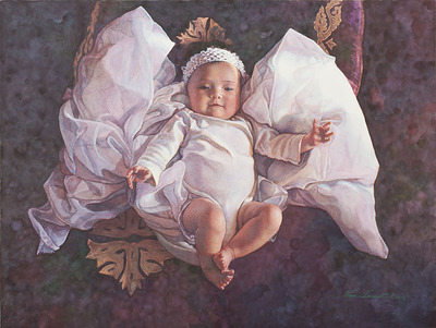 Angel Baby- CanvasGiclee – Open Edition – Fine Art – 12x16