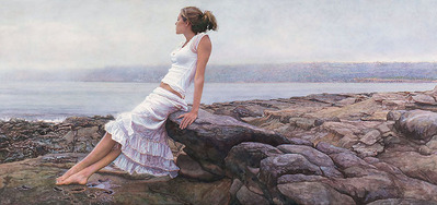 At The Edge Of So Many Tomorrows- Signed By The Artist – CanvasGiclee – Limited Edition – 50S/N – 16x34