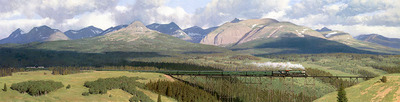 The Great Northern- Signed By The Artist – CanvasGiclee  – Limited Edition  – 20S/N  –  23x90